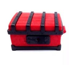 Playmobil Red and Black Toy Miniature Treasure Chest