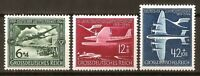 .DR Nazi 3rd Reich Rare WWII Stamp Luftwaffe Swastika Airmail Aircraft Luftpost