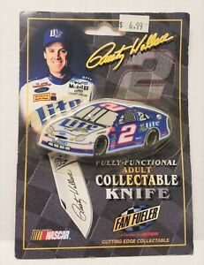 Rusty Wallace ~ Fully Functional ~ Adult ~ Collectible Knife ~ Nascar~