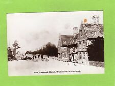 Haycock Hotel Wansford in England Hunting Advertising Peterborough RP pc Ref E15