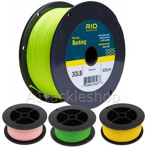 Rio 30lb Fly Line Backing 300yds - Suitable for Trout or Salmon Fly Fishing Reel