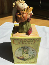 GNOMY'S Dairies - ANGEL of the MONTH -November- NEW in Box - 2002 Annekabouke