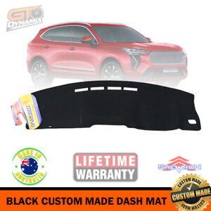 Black Dash Mat for Haval Jolion LUX Premium + LE 'NO HUD' A01 2/2021-2022 DM1612