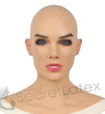 SILICONE FEMALE CROSS DRESS TRANSGENDER RUBBER REAL DISGUISE LIFE LADY MASK