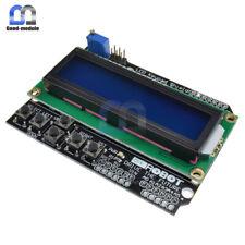 1602 LCD Board Keypad Shield Blue Backlight For Arduino LCD Duemilanove Robot GM