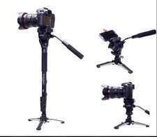 Yunteng 288 Monopod Unipod Holder Professional Photography tripod Phone clip