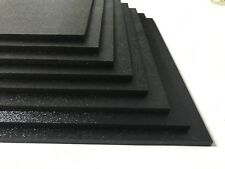 "ABS Plastic Sheet Black Vacuum Forming 1//8/"" Thick 12/"" x 48/"" 251f"