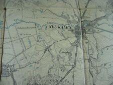 802KS1 Alte Karte Landkarte NEU - KALEN, Dörgelin Küsserow Sarmstorf Schorrentin
