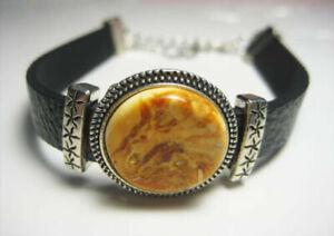 Genuine Amber Stylish Baltic Amber Bracelet !!!