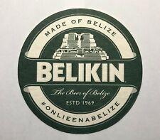Beer/Liquor Coasters~BELIKIN The beer of Belize. Double Sided 1ea. last one!