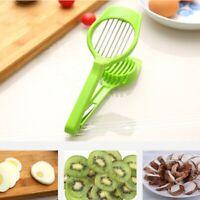 Food Cutter Egg Mushroom Fruit Slicer Long Handle Cut Sectione Kitchen Cook Tool