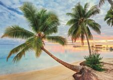 French Polynesia 1000 Piece Beach and Palm Tree Jigsaw Puzzle by Jumbo