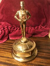 Rare 1960 's Original Golden Plate Award Trophy Science The Arts Theater Whoa!