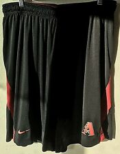 Arizona Diamondbacks Nike Dri-Fit MLB Genuine Men's 2XL Black Training Shorts