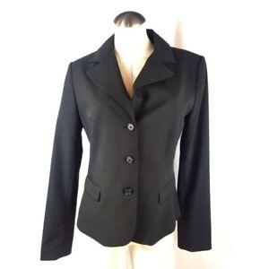 Tahari Size  14 Solid Black Blazer