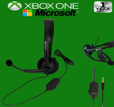 New OFFICIAL Microsoft XBOX ONE Gaming Wired Headset 3mm Jack  (Original OEM)