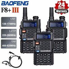 BaoFeng BF-F8+ Bi-Bande VHF/UHF Radio Portative Analogique 2 Voies