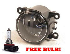 One Round Front Spot Fog Light Lamp Left Right With Free H11 Bulb Spare Part