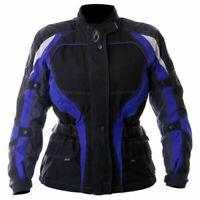 Richa Storm Textile Motorcycle Jacket Waterproof Black Blue