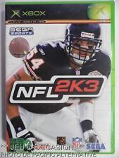 Jeu NFL 2K3 microsoft XBOX game francais sport 2003 football americain spiel #1