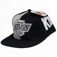 Vintage LA Kings Side Script Snapback Hat raiders sports specialties NEW