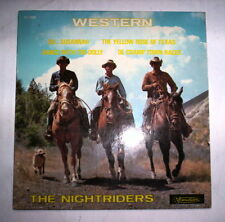 DISQUE 45T WESTERN THE NIGHTRIDERS