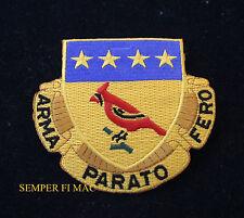 US ARMY 138TH FIELD ARTILLERY REGIMENT COLLECTOR PATCH USA PIN ARMA PARATO FERO