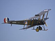 1/9 Scale British WW-I Avro 504 Biplane Plans, Templates, Instructions 48ws