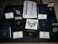 2011 Medal of Honor Commemorative Coins- original set - all 4 coins.
