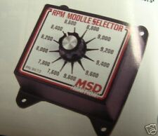 MSD RPM CHIP SELECTOR 8671 USE W/6AL 7AL CHEVY FORD MOPAR PRO STREET DRAG RACE