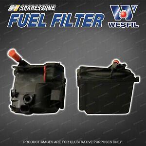 Wesfil Fuel Filter for Ford Fiesta WT WS 1.6L TDCi 4Cyl 16V TD Refer Z795