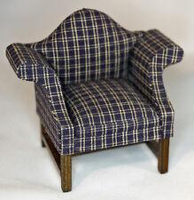 Dollhouse Miniature Camelback Chair