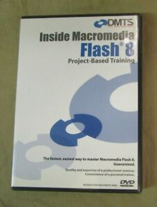 DMTS Inside Macromedia Flash 8 Project Based Training DVD 39 Lessons 8 Hours