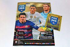 Panini FIFA 365 Saison *2016* LEERALBUM EMPTY ALBUM VUOTO MINT! GERMAN EDITION!
