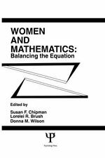 Women and Mathematics: Balancing the Equation (Psychology of...  (ExLib/NoDust)
