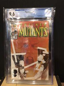 New Mutants #26 CGC 9.6