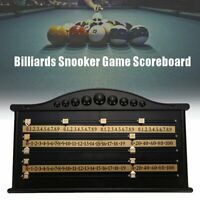 Billiards Scoreboard Snooker Game Scorer Board Player Number Calculation US A