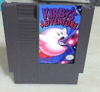 Kirby's Adventure 72 pins 8 bit Game Cartridge For Nes Nintendo English Language