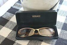 Vintage Versace Gold Rimmed/ Pink lens Sun Glasses With Case MOD N56 N30/536