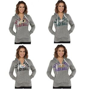 G-III Sports NFL Women's Post Season Full Zip Hooded Sweatshirts
