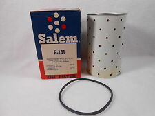 Salem NOS P-141 Oil Filter Cartridge w/Gasket ACPF-141,Fram CH-200PL, Puro P-141