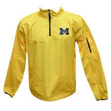 Michigan Wolverines NCAA Apex Men's 1/4 Zip Pullover Performance Jacket XL