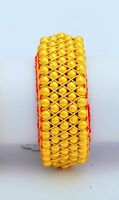 20K YellowGold Traditional Rajasthani Indian Beads Bangle Bracelet Fine Jewelry