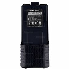 NKTECH 3800mAh Extended Battery For BaoFeng UV-5R Plus UV-5RA 5RB Two Way Radio