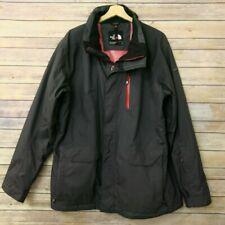The North Face Hyvent Mens Rain Coat Jacket Size L Charcoal