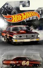 1964 FORD CUSTOM GALAXIE 500 RARE 1/64 SCALE DIORAMA DIECAST CAR COLLECTIBLE
