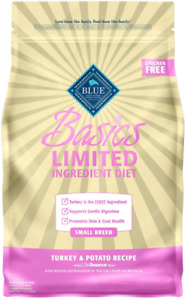 Blue Buffalo Basics Limited Ingredient Diet, Adult Small Breed Dry Dog Food