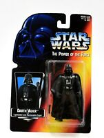 Star Wars Power of The Force (Red) - Darth Vader (Removable Cape) Action Figure