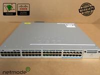 Cisco WS-C3850-12X48U-L Switch 48 Port GE 12x 10 Gbps UPOE LAN Base 1100 AC PWR