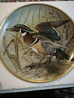 Franklin Mint 1981 Water Birds of the World 9* Wood Duck boxed plate plus insert